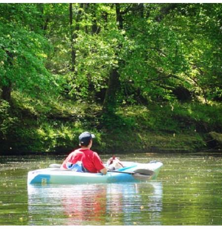 Plaukimas baidarėmis  Bukos, Kiaunos, Žeimenos, Lakajos, Peršokšnos upėmis