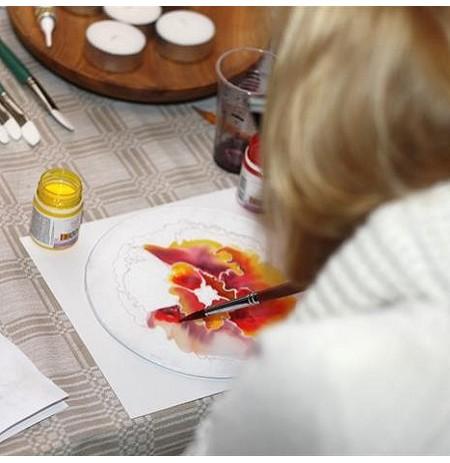 Išbandykite šilko tapybos ir marginimo pamoką Vilniuje