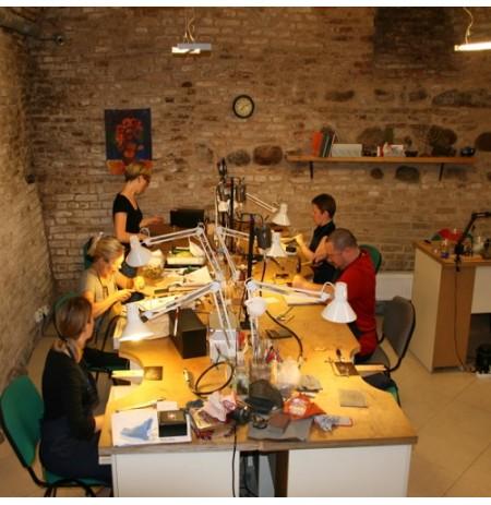 Išbandykite Juvelyrikos pamoką Vilniuje