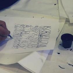 Išbandykite Kaligrafijos pamoką Vilniuje
