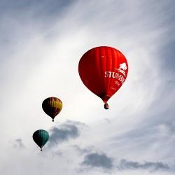 Skrydis oro balionu Klaipėdoje